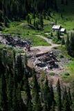 Mine Ruins Alpine Loop Colorado royalty free stock image