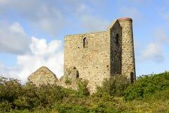 Mine ruins near st. Ives Stock Image