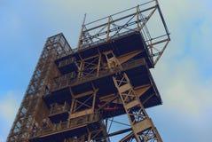 Mine shaft. Coal mine shaft. Katowice. Poland stock images