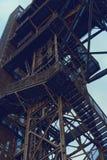 Mine shaft. Coal mine shaft. Katowice. Poland royalty free stock photo