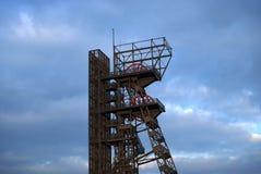 Mine shaft. Coal mine shaft. Katowice. Poland stock photo