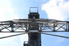 Mine shaft, Katowice Stock Image
