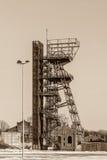 Mine shaft in Katowice Royalty Free Stock Photo