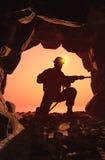 The mine. Stock Photos