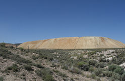 Mine Tailings, Nevada. Tailings from a mine in Nevada Royalty Free Stock Photos