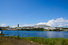 Mine tailings Royalty Free Stock Images