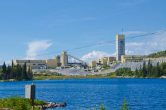 Mine tailings Stock Photography