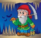 Mine theme image 2 stock illustration