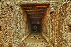 Mine tunnel Royalty Free Stock Photo
