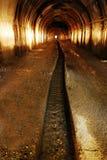 Mine tunnel vertical Stock Photos