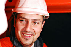 Mine worker royalty free stock photography