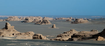 Mine of Yadan landform Royalty Free Stock Photography