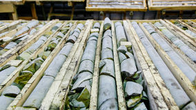 Free Mined Core Being Logged Stock Photos - 65005593