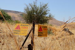 minefield Photos stock