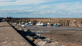 Minehead гавани Стоковые Изображения