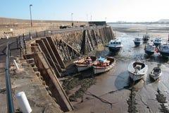 Minehead-Hafen lizenzfreies stockbild