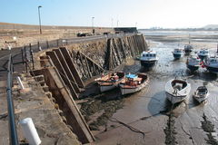 Minehead Harbour Royalty Free Stock Image