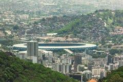 Mineirão竞技场在贝洛奥里藏特 免版税库存照片