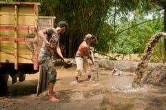 Mineiros tradicionais da areia Fotos de Stock Royalty Free