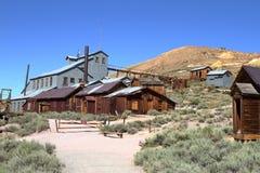 Minen - den Bodie Ghost staden - Kalifornien Arkivfoton