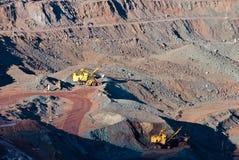 Minenindustrie Lizenzfreie Stockbilder