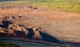 Minenindustrie Lizenzfreies Stockfoto