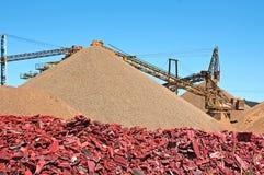 Minenindustrie Stockfotografie