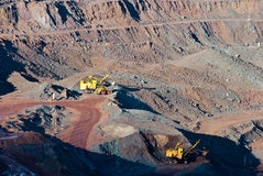 Minería Imágenes de archivo libres de regalías