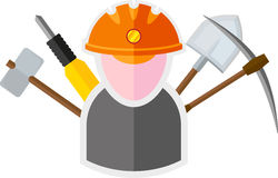 Miner Royalty Free Stock Photography