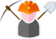 Miner Royalty Free Stock Images