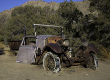 Miner's Car Royalty Free Stock Photography