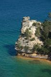 Miner's Castle; Pictured Rocks National Lakeshore Royalty Free Stock Image