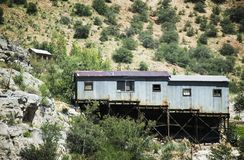 Miner's Shack, Bisbee, Arizona Royalty Free Stock Photography