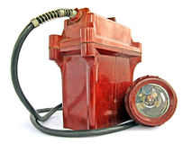 Miner S Torch Royalty Free Stock Images