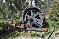 Miner`s Wheel Stock Image