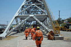 Mineração. Foto de Stock