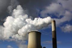 Mineração aberta de carvão de Brown Imagem de Stock Royalty Free