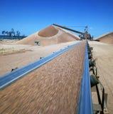 Mineração da bauxite foto de stock royalty free