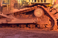 Mineração da bauxite Imagem de Stock