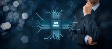 Mineração de dados Imagens de Stock