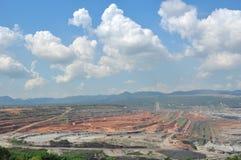 Mineração do carvão Imagens de Stock Royalty Free