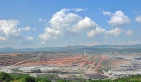 Mineração do carvão Imagem de Stock Royalty Free