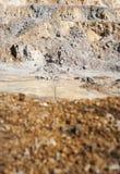 Mineração do ouro e do cobre Fotos de Stock Royalty Free
