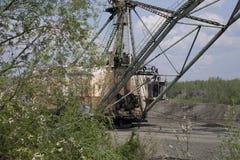 Mineração do ouro em Kolyma foto de stock royalty free