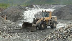 Mineração do ouro em Yakutia vídeos de arquivo