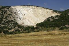 Mineração em torno de Burdur Foto de Stock Royalty Free