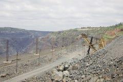 Mineração Opencast Fotografia de Stock