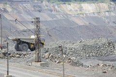 Mineração Opencast Foto de Stock