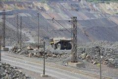 Mineração Opencast Imagens de Stock Royalty Free