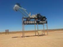 Mineração pedy do ventilador do sa de Coober Fotografia de Stock Royalty Free